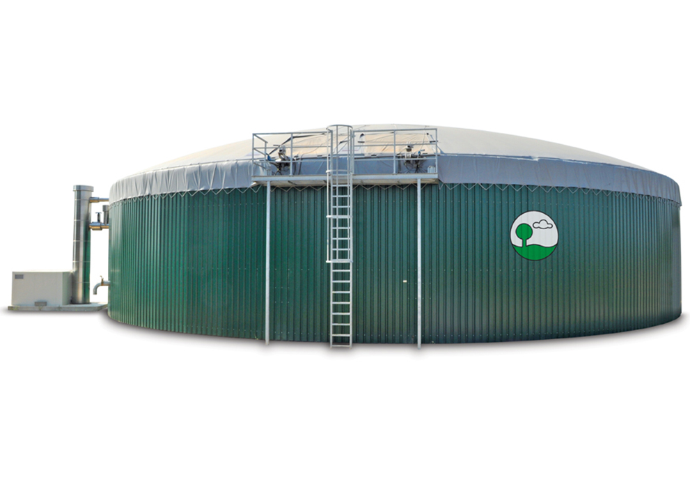 Digester for biogas production
