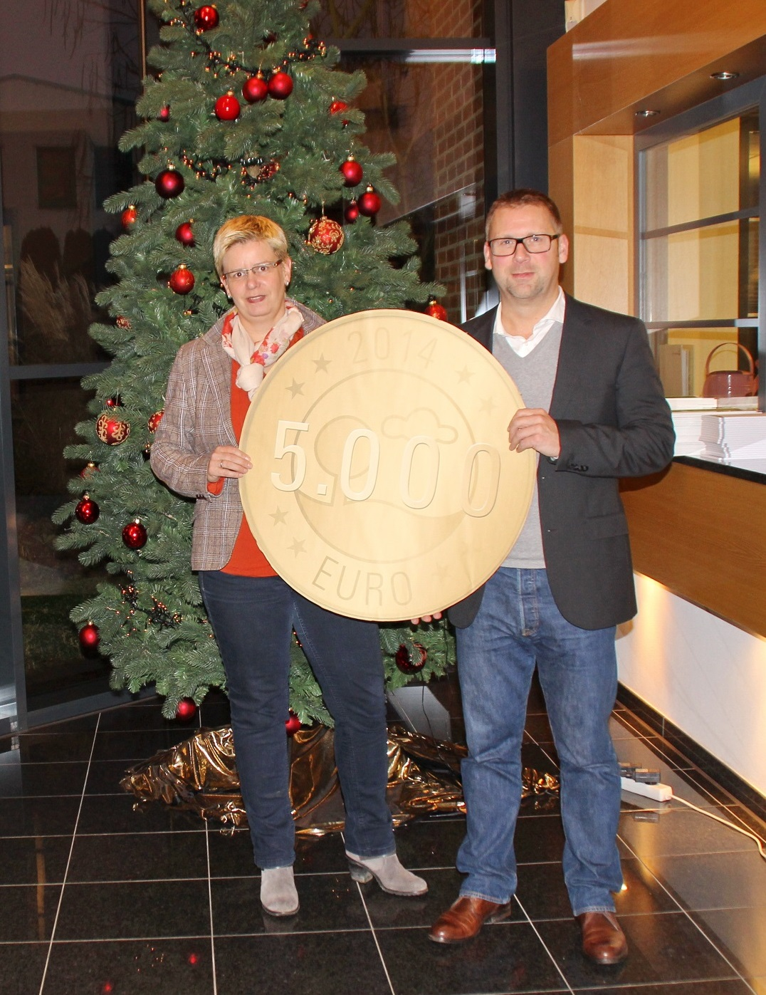 EnviTec Biogas donates a total of 10,000 euros for Christmas