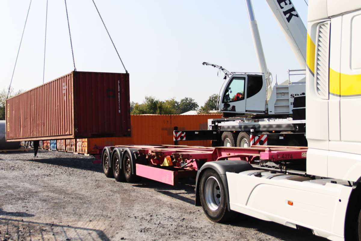 22 containers loaded with EnviTec Biogas technology for Lankao will arrive in about six weeks.