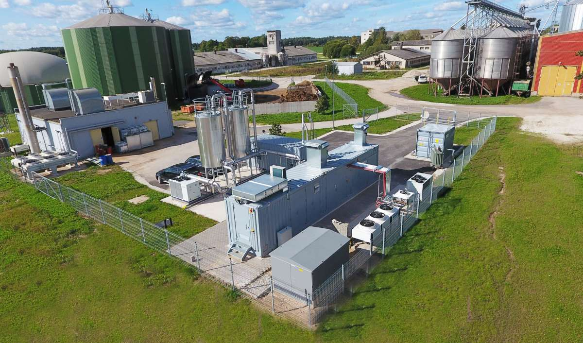 Quick and clean - only six months after order, the first EnviThan biogas upgrading plants in Estonia produce fuel for the public transport sector.