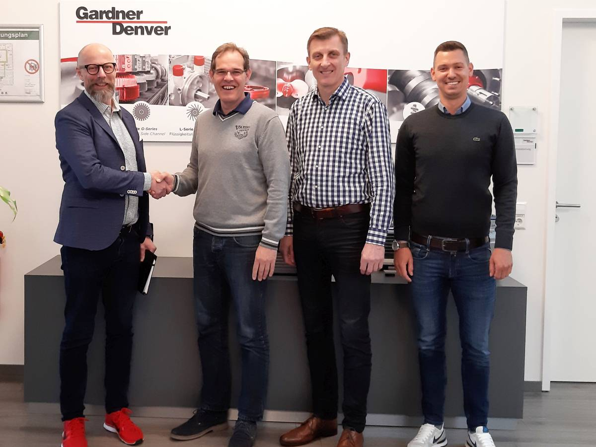 EnviTec Service announces new partnership agreement with Gardner Denver / product range WITTIG